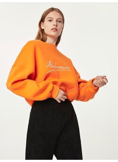 Twist Sweatshirt Oranj